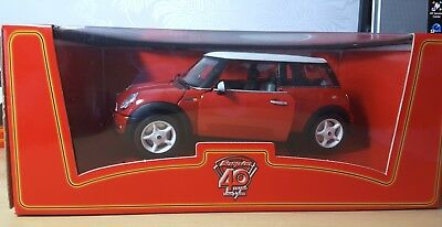 Snap-On 40Th Anniversary - 2001 Bmw Mini Cooper In Red/white- Brand New With Box