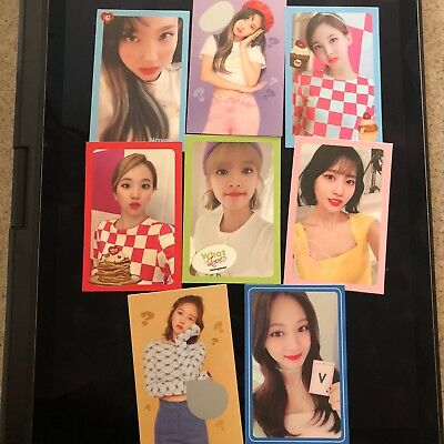 Twice What Is Love Official Photocards