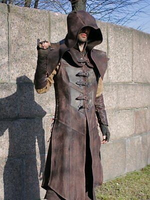 Assassin's creed costumes cosplay costume leather armor fantasy armor larp