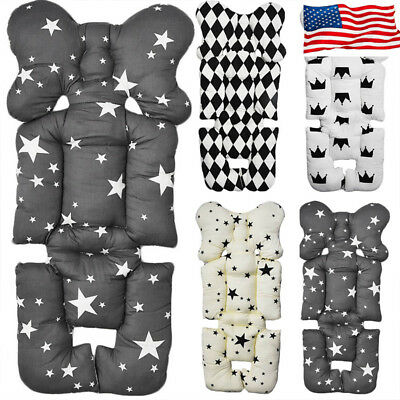 Infant Baby Car Seat Warm Mat Stroller Liner Cushion Pushchair Cotton Pad Cover