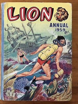 Lion Annual 1959. Published By Fleetway