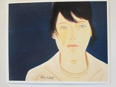 Alex Katz Multiple Handsigned