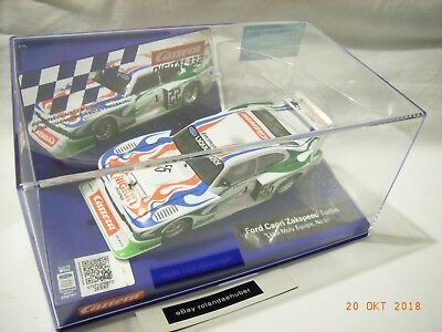 Carrera Digital 132 Ford Capri Zakspeed Turbo Liqui Moly Equipe No. 55 - 30817