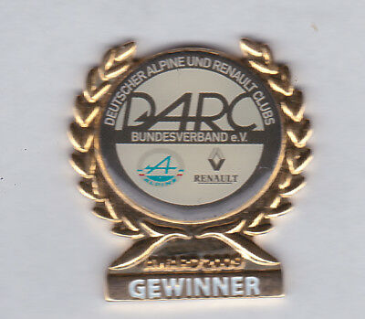 Pin's Alpine Renault Clud  Rare d'Allemagne 2009.