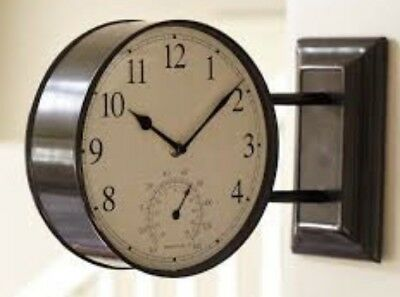 Pottery Barn Side Mounted Station Clock