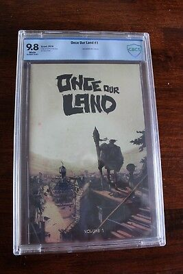 Once our Land #1 CBCS 9.8