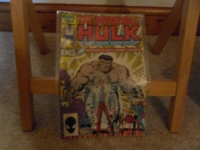 The Incredible Hulk #324 (1986, 1st New Grey Hulk) Very Rare comic in VG+