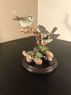 """Country Artists - """"woodland Visitors"""" - 1996 Limited Edition - Goldcrests"""