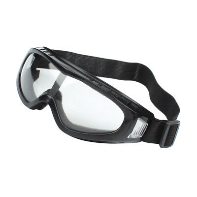 Transparent/Black Protective Eye Goggles Safety Glasses for Driving, Working