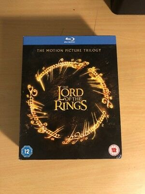 Lord Of The Rings Trilogy Blu-Ray Region Free