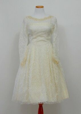 Vintage 50's Wedding Dress - Ivory Lace - New Look - Very Sweet