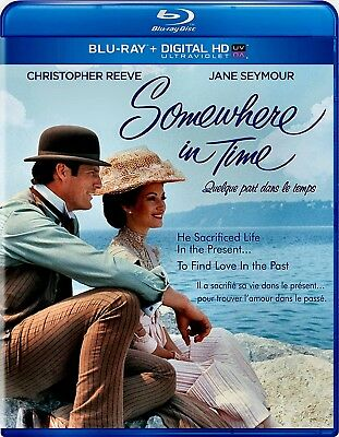 New  Blu Ray - Somewhere In Time - Christopher Reeve ,  Jane Seymour