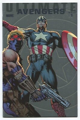 Ultimate Comics Avengers (2009) #1 - Carlos Pachecho 1:25 Foil Variant - Marvel