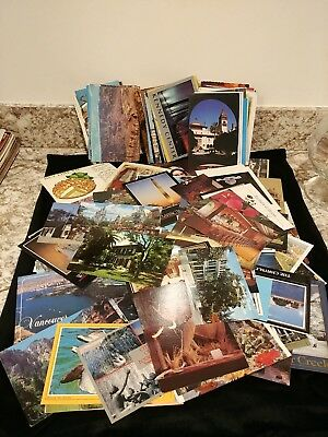 Postcard Lot of over  130 US TRAVEL All from the united states 100 unused 35