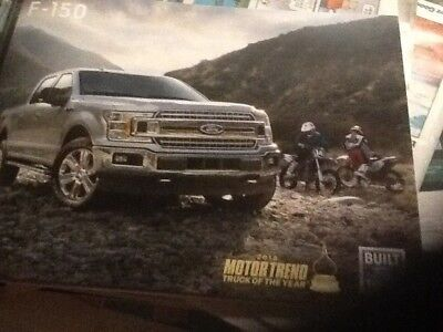 2018 Ford F-150 full line brochure now with diesel new