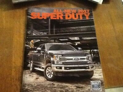 2017 Ford F-250/350/450 super duty  brochure new