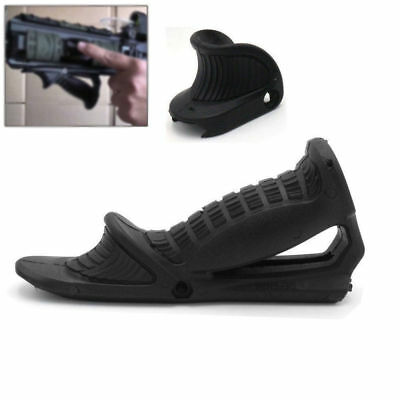 Rifle Tactical Ergonomic Forward Point Angled Fore Grip Thumb Lock Hand Stop ***