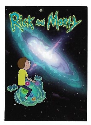 Cryptozoic Rick and Morty Trading Cards Season 2 Promo P2 Philly Non Sport Show