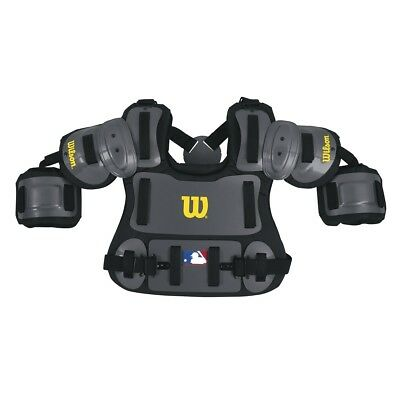 """Wilson 13"""" Baseball Umpire Fitted Chest Protector Brand New in Plastic"""