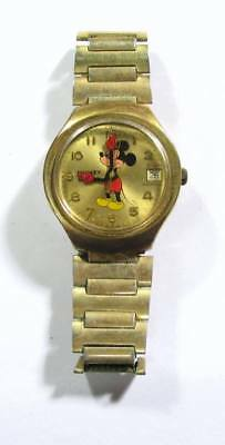 Elgin Mickey Mouse Gold Swiss Made Watch