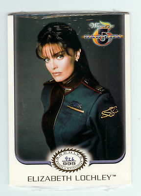 The Complete Women of Babylon 5 Archive Collection of Six Oversize Trading Cards