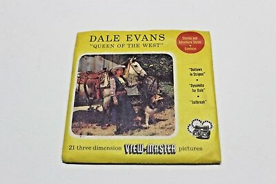 """Vintage ViewMaster DALE EVANS """"QUEEN OF THE WEST"""""""