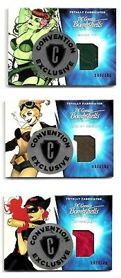 Cryptozoic DC Bombshells Totally Fabricated Philly Non Sports Exclusive Set /100