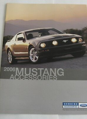 2006 Ford Mustang Accessories Brochure