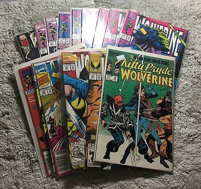 Wolverine Comic Book Lot Marvel Comics
