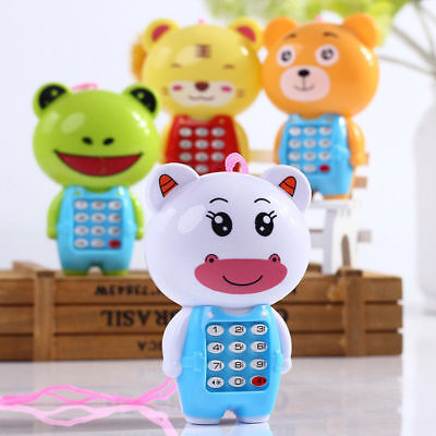 Cute Cartoon Music Phone Toys Educational Learning Toy Phone Gift For Kids Baby