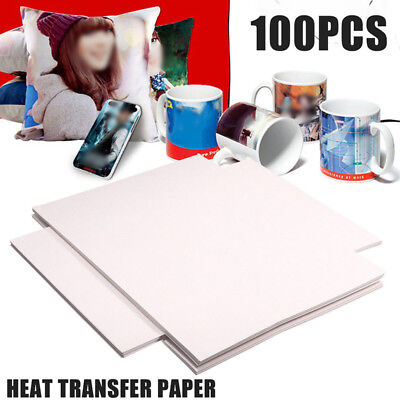Heat Transfer Papers Set Lot A4 Dye Sublimation For Polyester Cotton T- Shirt