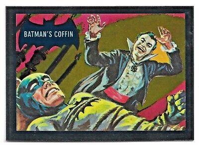 2018 Cryptozoic DC Batman Classic TV Series Blue Bats Reissue Cryptomium DC9-4