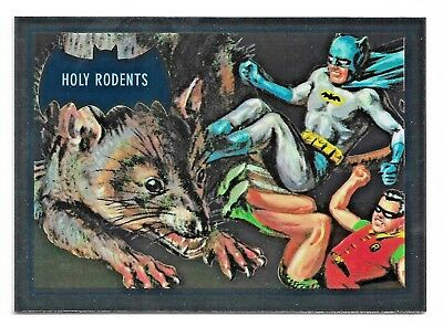 2018 Cryptozoic DC Batman Classic TV Series Blue Bats Reissue Cryptomium DC9-7