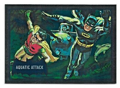 2018 Cryptozoic DC Batman Classic TV Series Blue Bats Reissue Cryptomium DC9-8