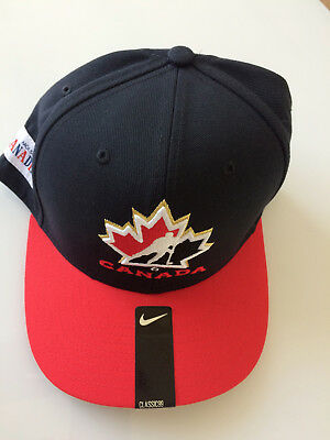 Nike Team Canada Hockey Olympic Adjustable Cap Snapback Hat