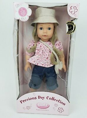 """New Gotz Precious Day Collection Doll 2007 Blonde Girl 18"""""""