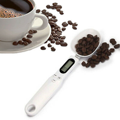 New 500/0.1g Digital LCD Measuring Food Kitchen Lab Electronic Spoon Scale