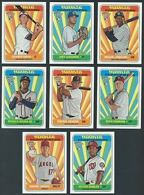 2018 Topps Heritage High Series Rookie Performers You Pick Finish Your Set
