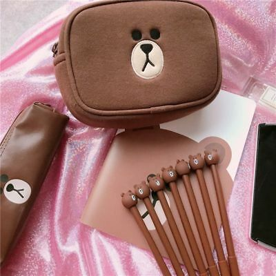 Novelty Brown Bear Rilakkuma Bear Gel Pen Ink Marker Pen School Office Supplies