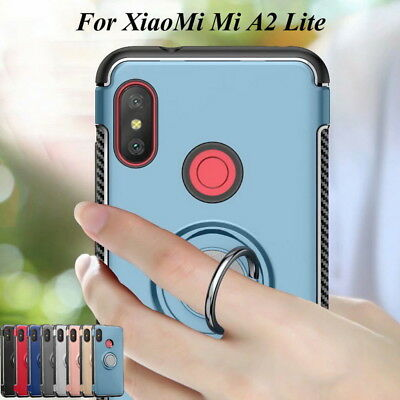 For Xiaomi Mi A1 A2 Lite Redmi Note 5 Pro 6 Magnetic Ring Hybrid Hard Case Cover