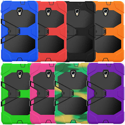 Tablet Stand Armor Kids Silicone Case For Samsung Galaxy Tab A 7.0 8.0 9.7 10.1