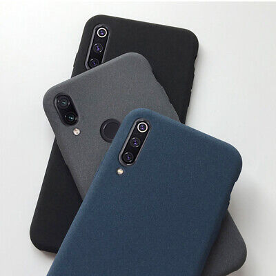 For Xiaomi Mi A2 Lite A1 8 SE Redmi Note 5 6 Pro Sandstone Soft Matte Case Cover