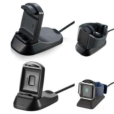 For Fitbit Blaze Charger Charging Stand Replacement Cradle Dock Accessories 2in1
