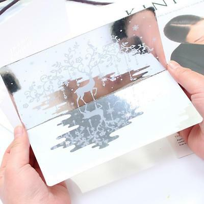 Mirror Silver Greeting Card Birthday Wedding Card Paper Gift CardNice