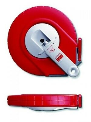 BMI 509224025AF Stainless Measure Steel-Tape with mm Graduation in Radius Case,