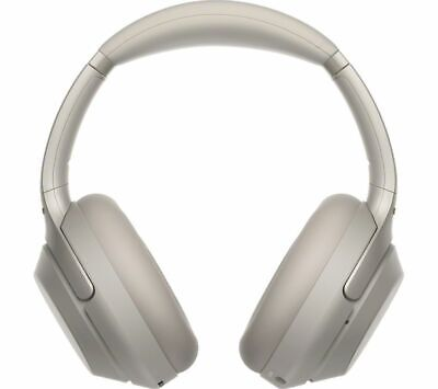 SONY WH-1000XM3 Wireless Bluetooth Noise-Cancelling Headphones - Silver - Currys