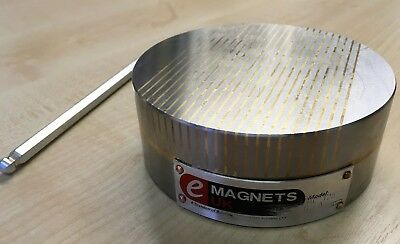 *REFURBISHED* Bunting e-Magnets Permanent Magnetic Workholding Circular Chuck