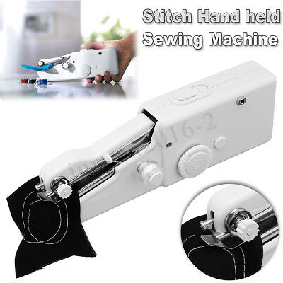 Mini Portable Smart Electric Tailor Stitch Hand-held Sewing Machine Home