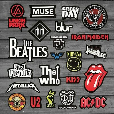 Heavy Metal Rock Punk Band Sticker For Guitar Car Styling On Laptop
