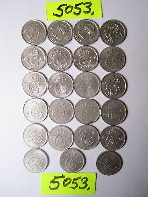 23 x Ore  coins from   Sweden   23  gms      Mar5053